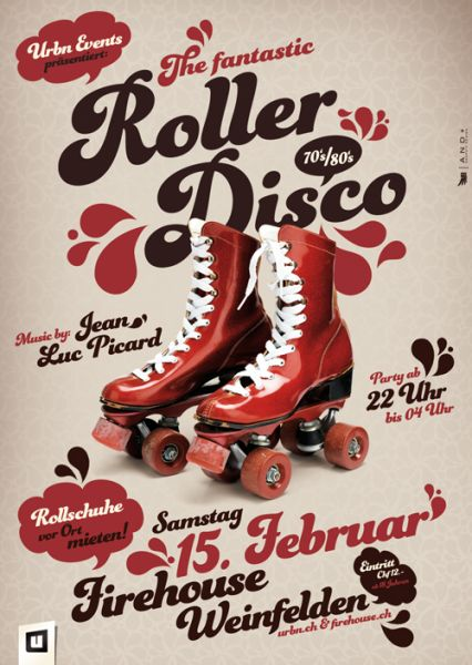 rollerdisco rollschuhparty firehouse party frauenfeld