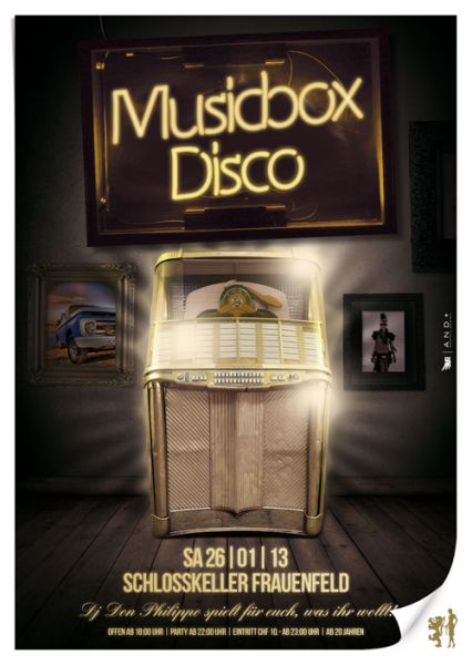 musicbox Disco party Frauenfeld