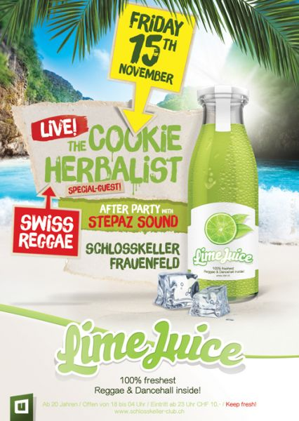 urbn lime juice party frauenfeld cookie the herbalist stepaz sound