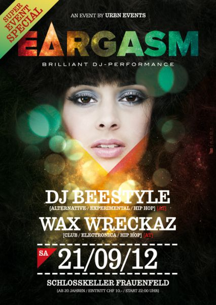 urbn beestyle wax wreckaz party frauenfeld