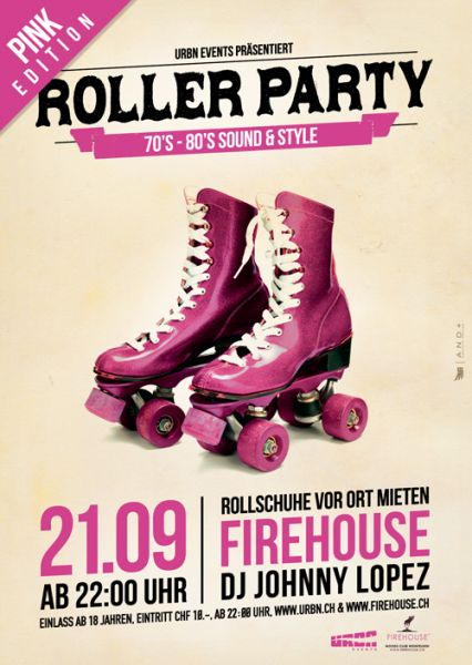 urbn roller disco party firehouse