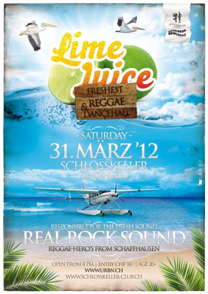 lime juice party frauenfeld Real rock
