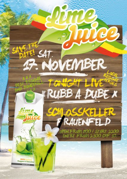 urbn lime juice party frauenfeld