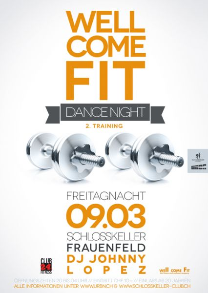 well come fit dance night party frauenfeld schlosskeller